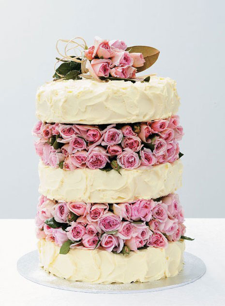 Natural Ways To Decorate Cakes