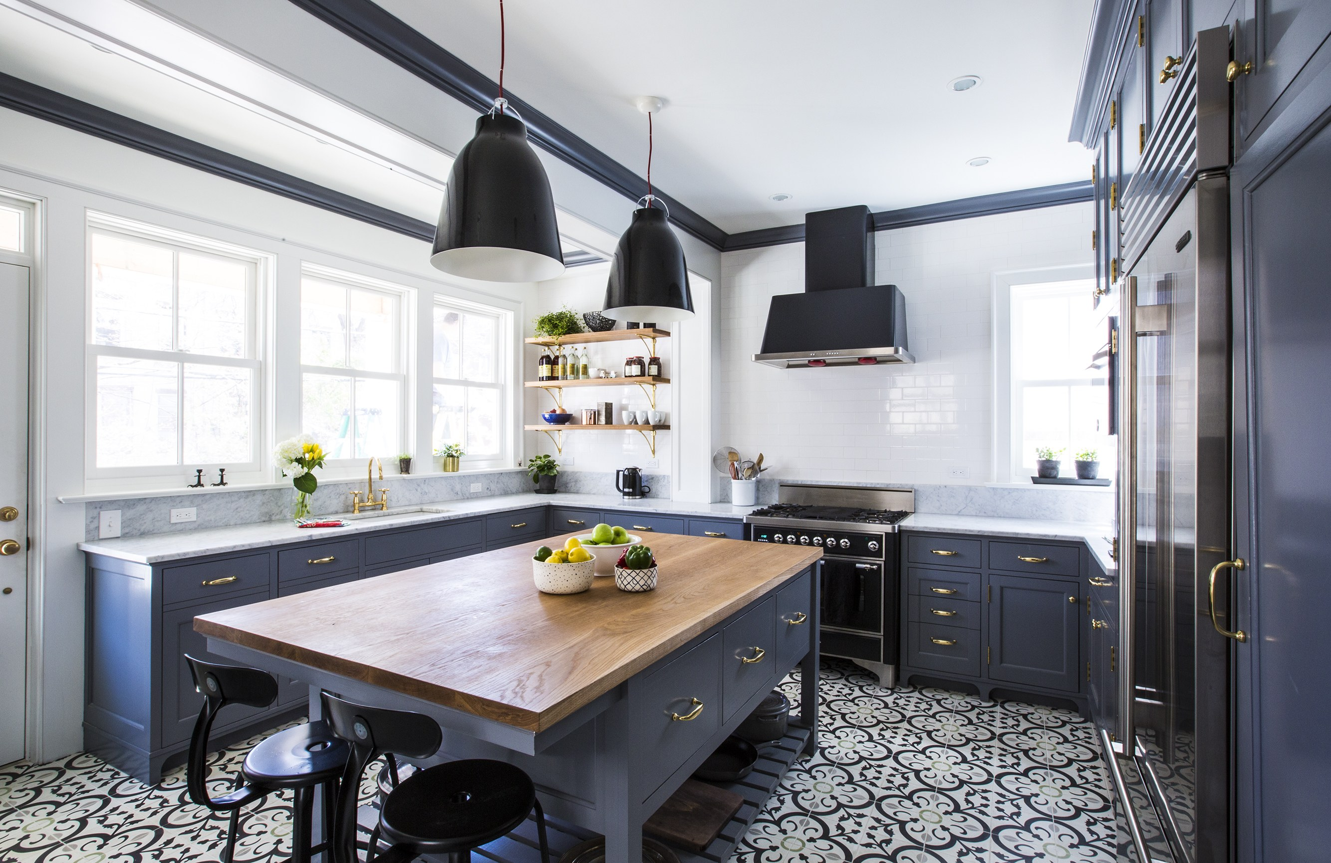 Renovation Kitchen Before And After A White And Gray Kitchen Renovation Huffpost