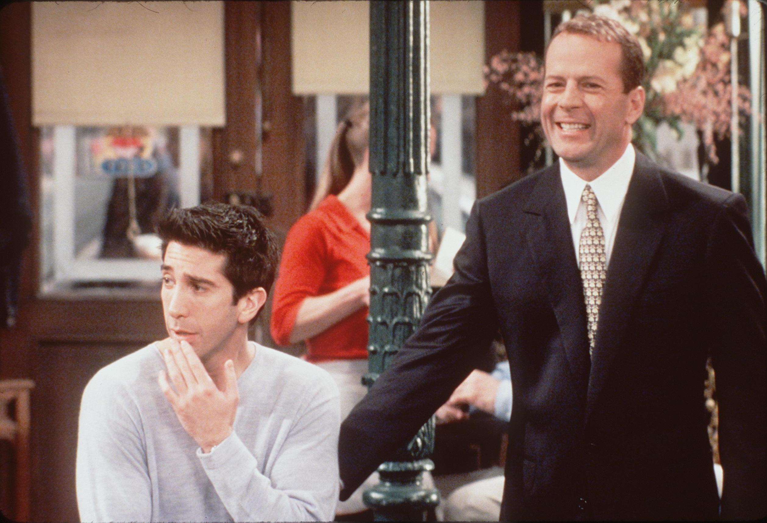 Did Bruce Willis Guest Star on Friends Because He Lost a ...