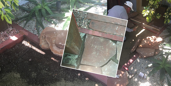 Images Garden Hardscape: Working With Color and Texture 3 hardscapes