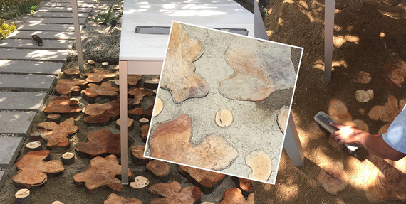 Images Garden Hardscape: Working With Color and Texture 4 paths