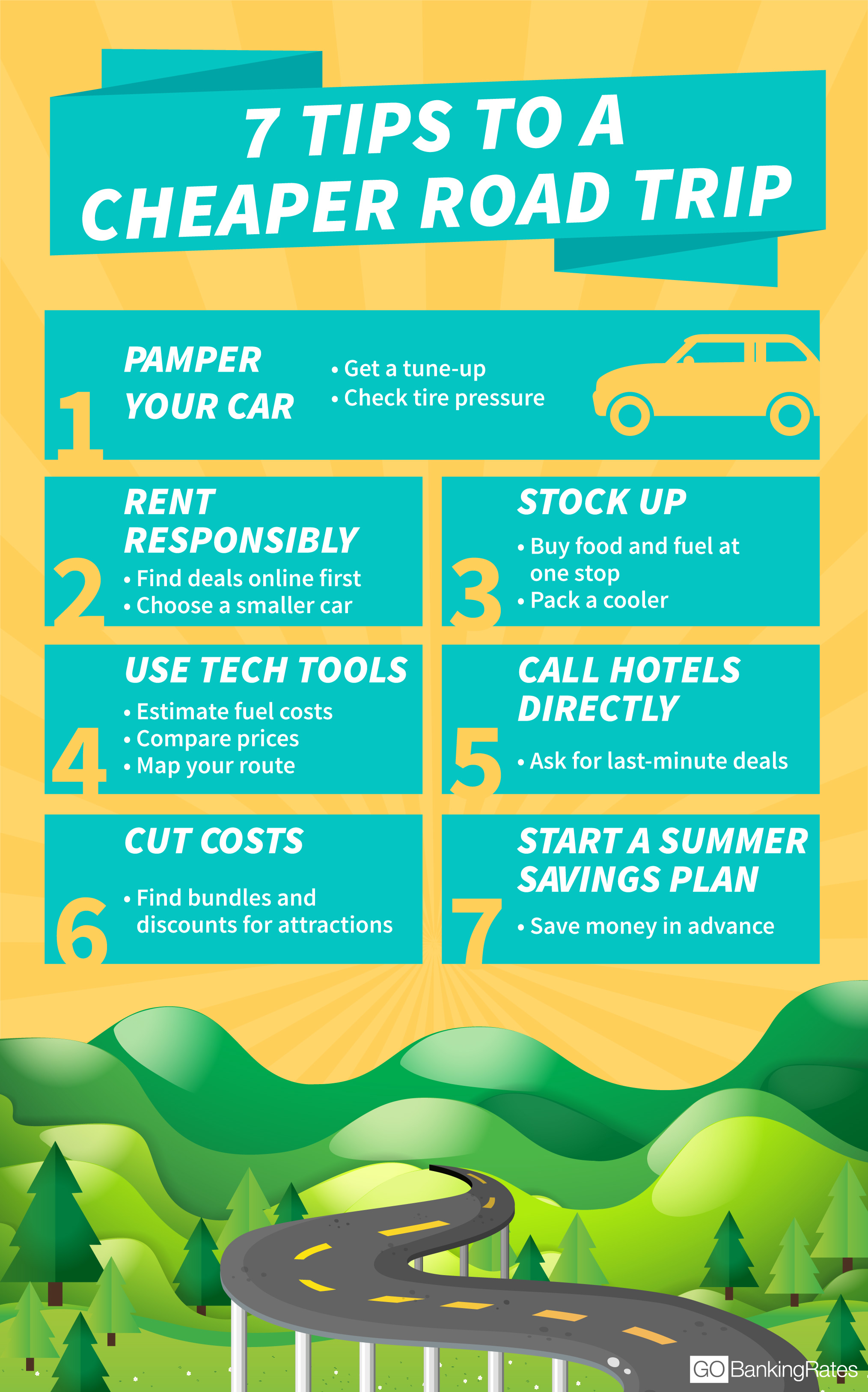 Road Trip Tips and Tricks