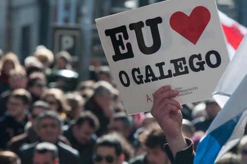 I love Galician