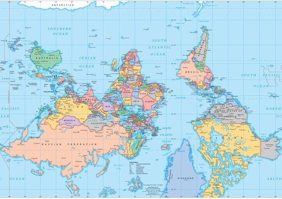 Upside down map from thiswayupafrica.co.za website