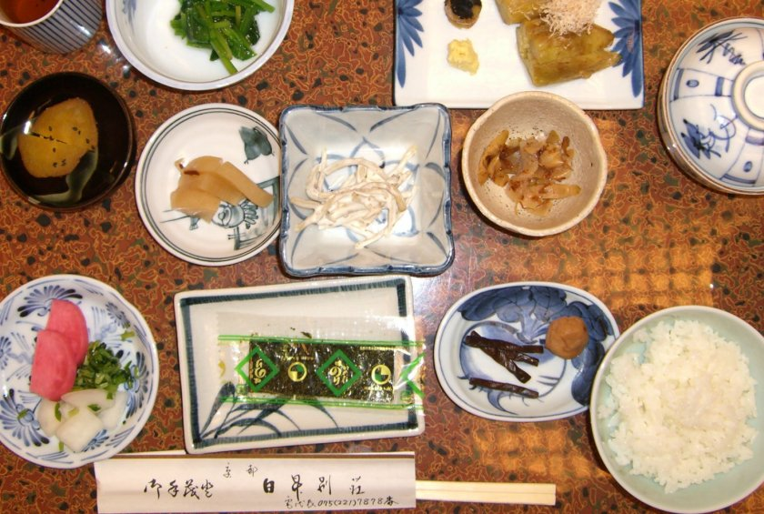 Is traditional japanese breakfast the healthiest way to for Abis japanese traditional cuisine