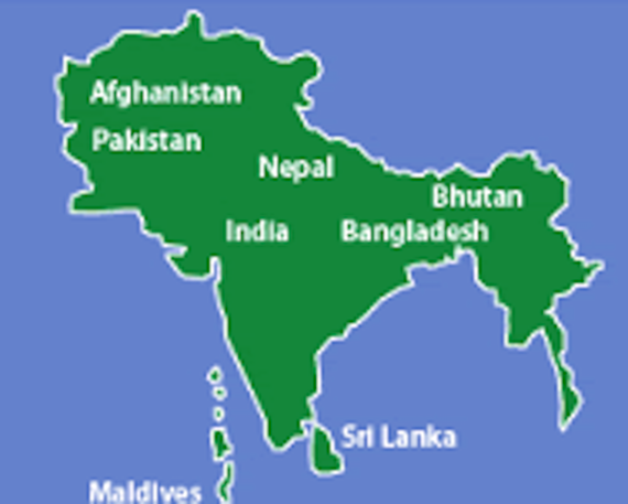 pakistan location in south asia