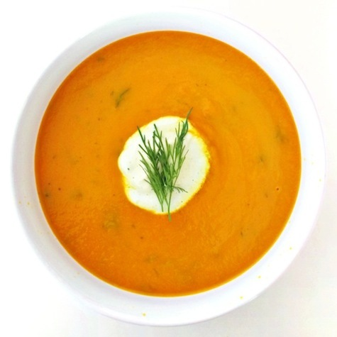 Chilled Carrot Soup The Kitchen