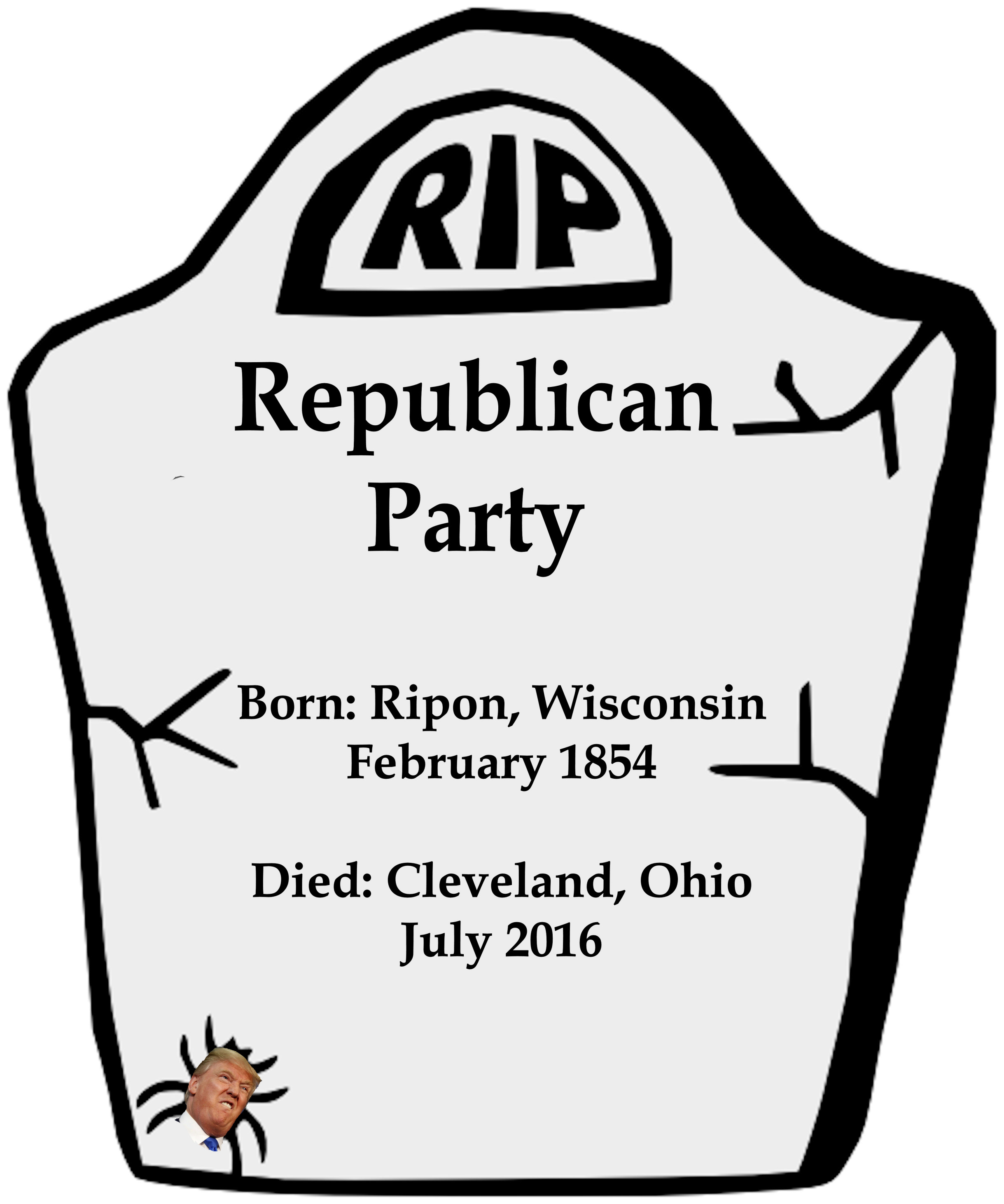 an obituary for the republican party huffpost