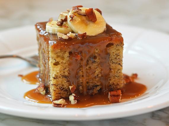 Twist On Chocolate Cake And Banana