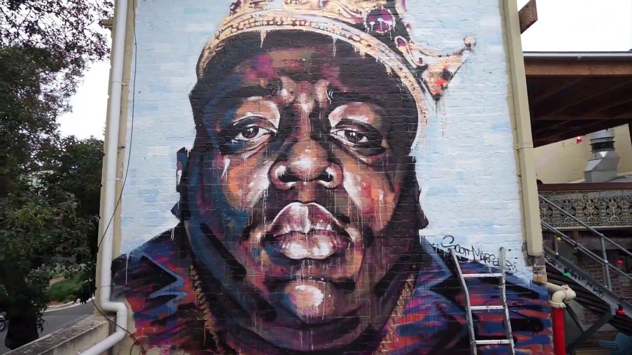 Brooklyn 39 s finest huffpost for Biggie smalls mural brooklyn
