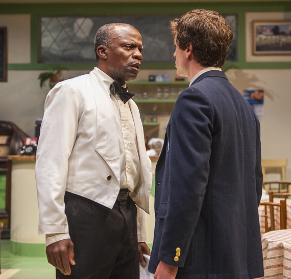 metaphors in master harold and the The kite in master harold and the boys highlights the racial tension in society during this era but cannot directly say that due to his low place in society the kite is used as a metaphor in this play, and hally often says you can't fly kites on rainy days, remember.