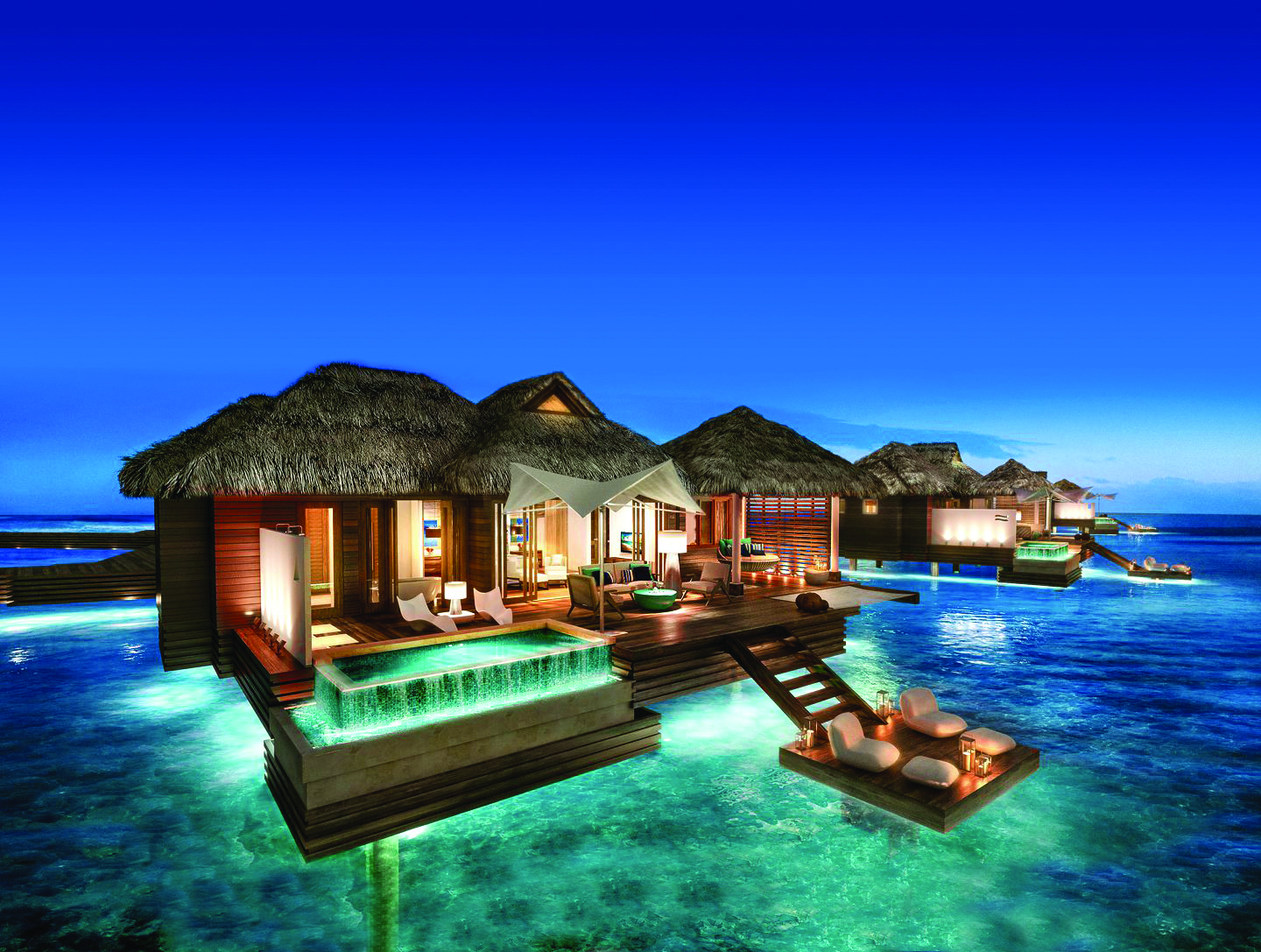 The Ultimate Luxury A Honeymoon With Private Pool Huffpost