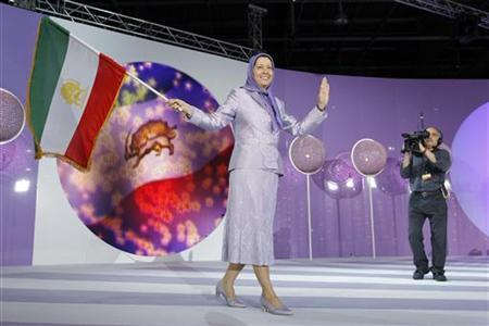 Maryam Rajavi — MEK Propaganda Queen — Advertises Her Services For Iran's Enemies