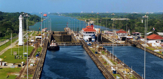how to get to panama canal
