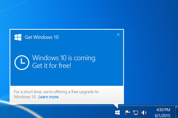 Microsoft Takes Windows 10 Upgrade Nag Full Screen