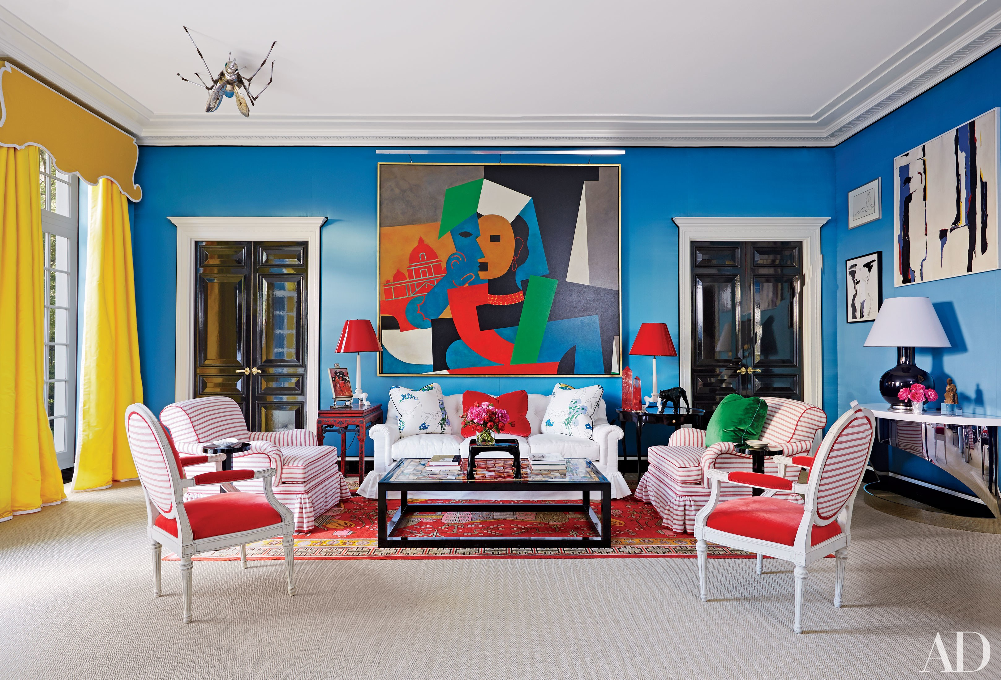 25 Bright and Colorful Room Ideas | The Huffington Post