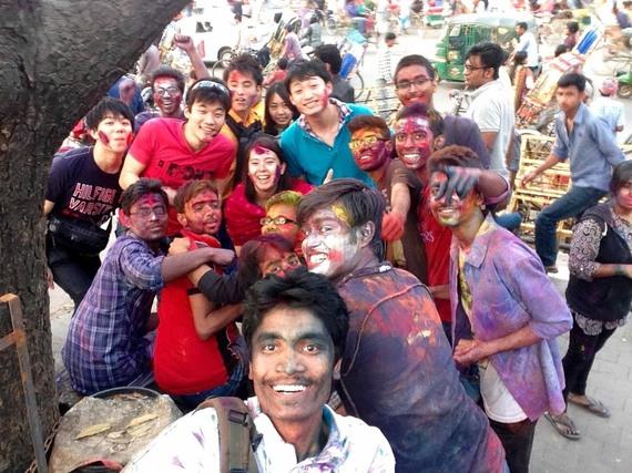 バングラデシュのホーリー祭
