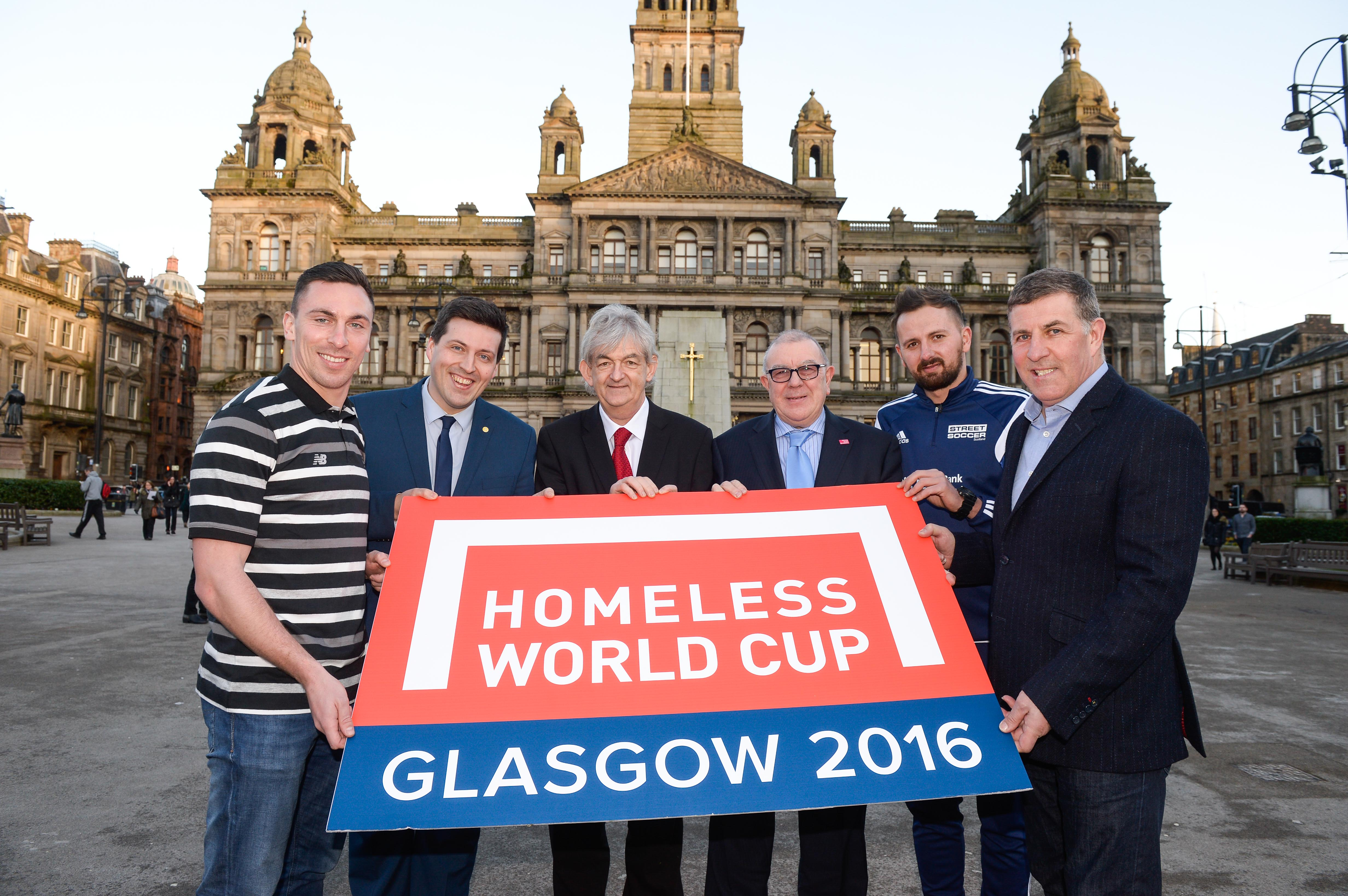 Homeless World Cup tournament gets under way in Glasgow
