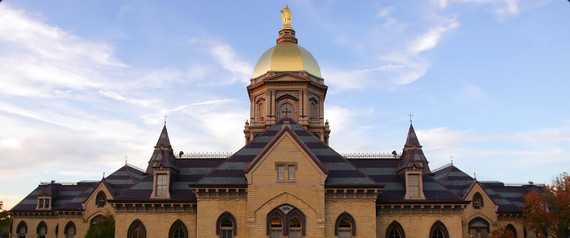 Notre Dame Football Fool S Gold Or 24k Huffpost