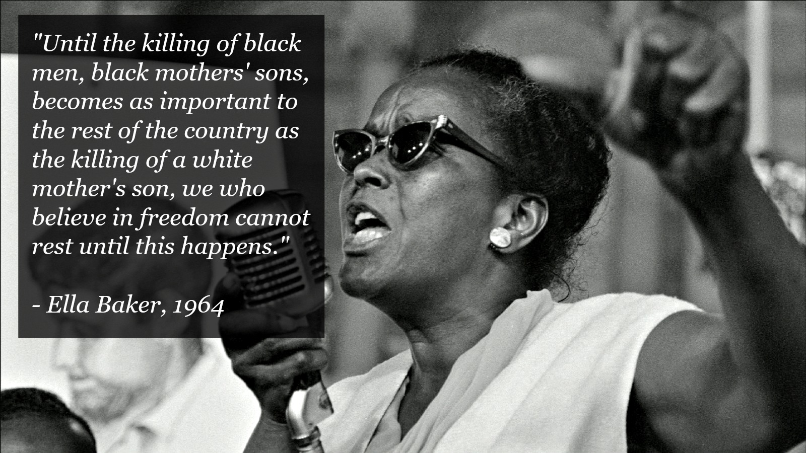 ella baker and the black freedom The book ella baker and the black freedom movement: a radical democratic  vision, by dr barbara ransby was an incredible and extremely moving book.