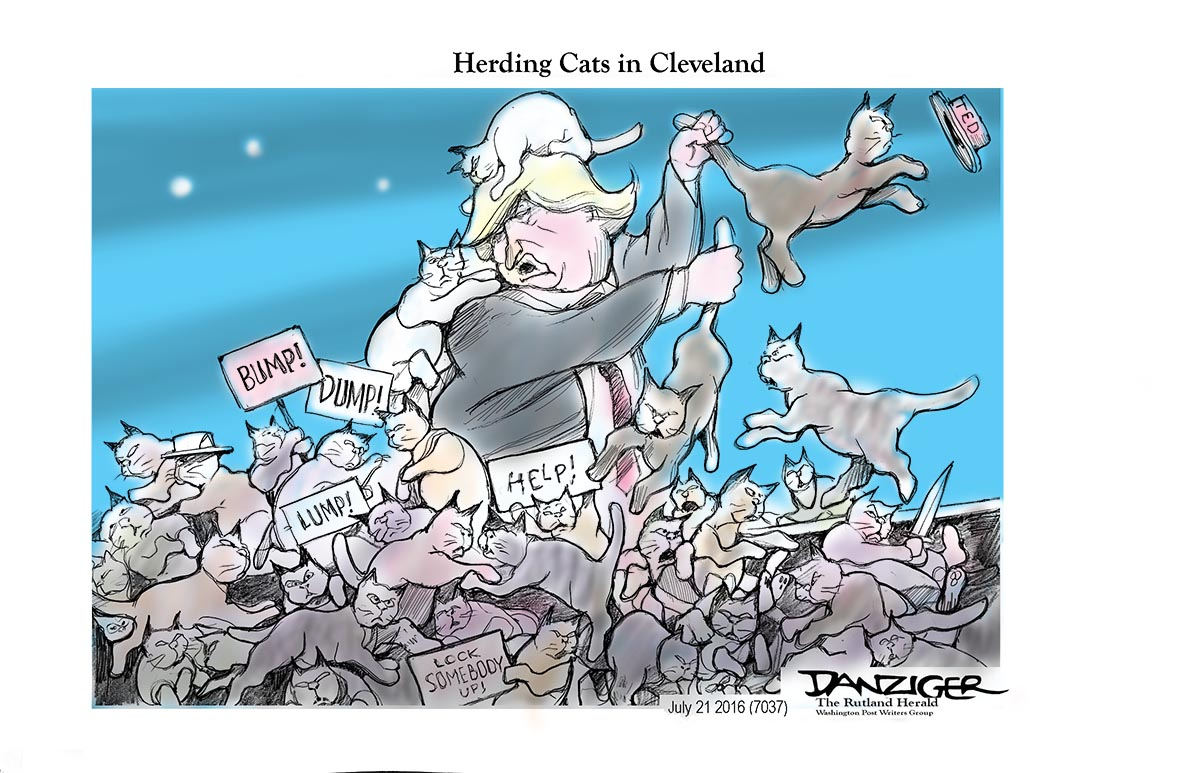 Herding Cats In Cleveland Huffpost