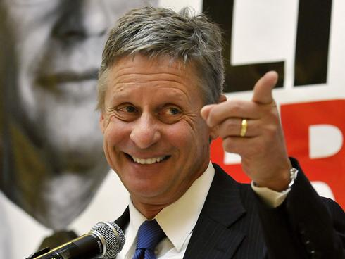 Image result for Gary Johnson
