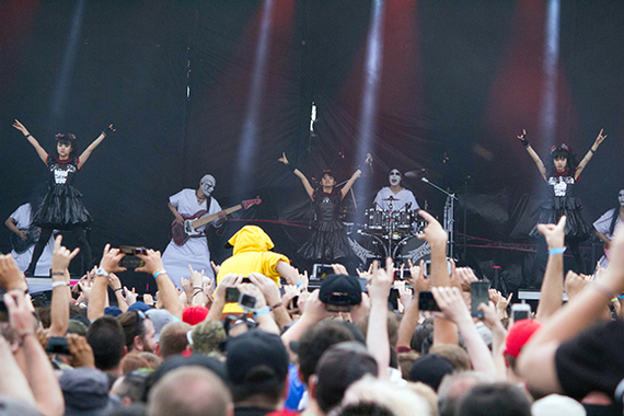 interview with japanese metal band babymetal at chicago open air