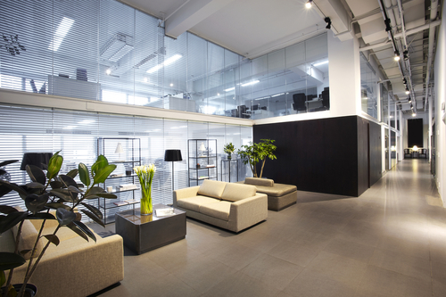 modern office interiors - Office Decor Ideas