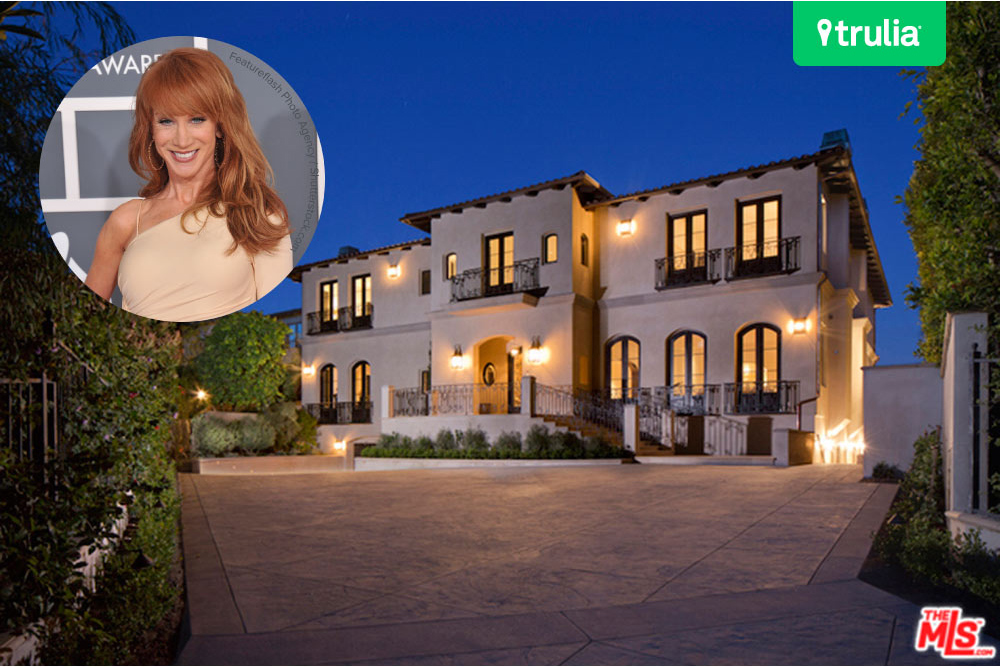 Kathy Griffin Buys $10.5 Million Mansion In Los Angeles