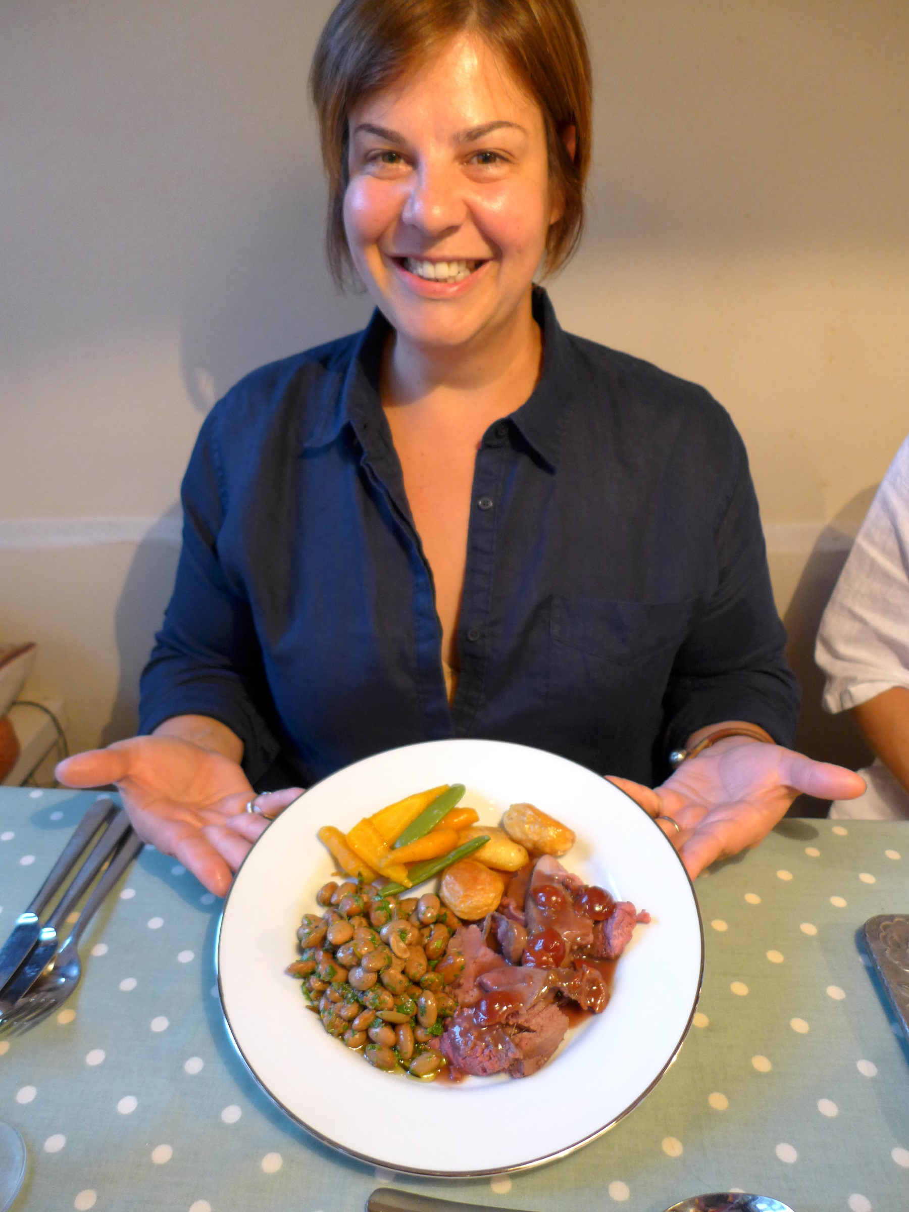 how to cook venison haunch on the bone