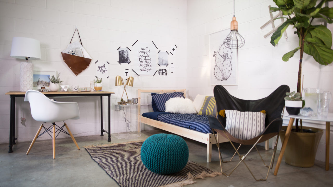 Decorating Ideas > Dorm Room Decor, 3 Ways  HuffPost ~ 005315_Eclectic Dorm Room Ideas