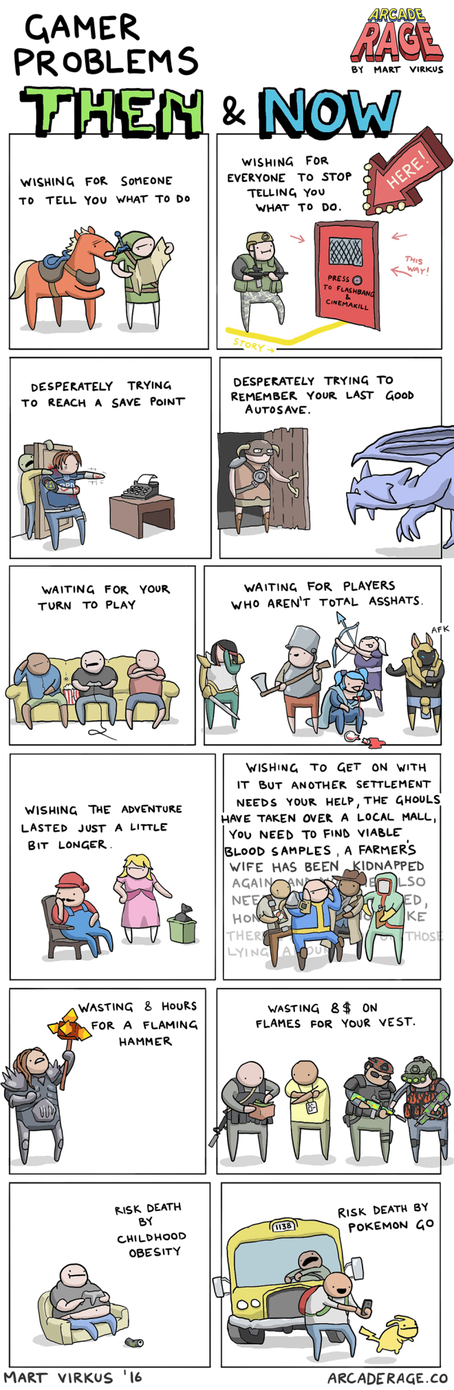 These Comics Perfectly Illustrate Video Game Problems From Your