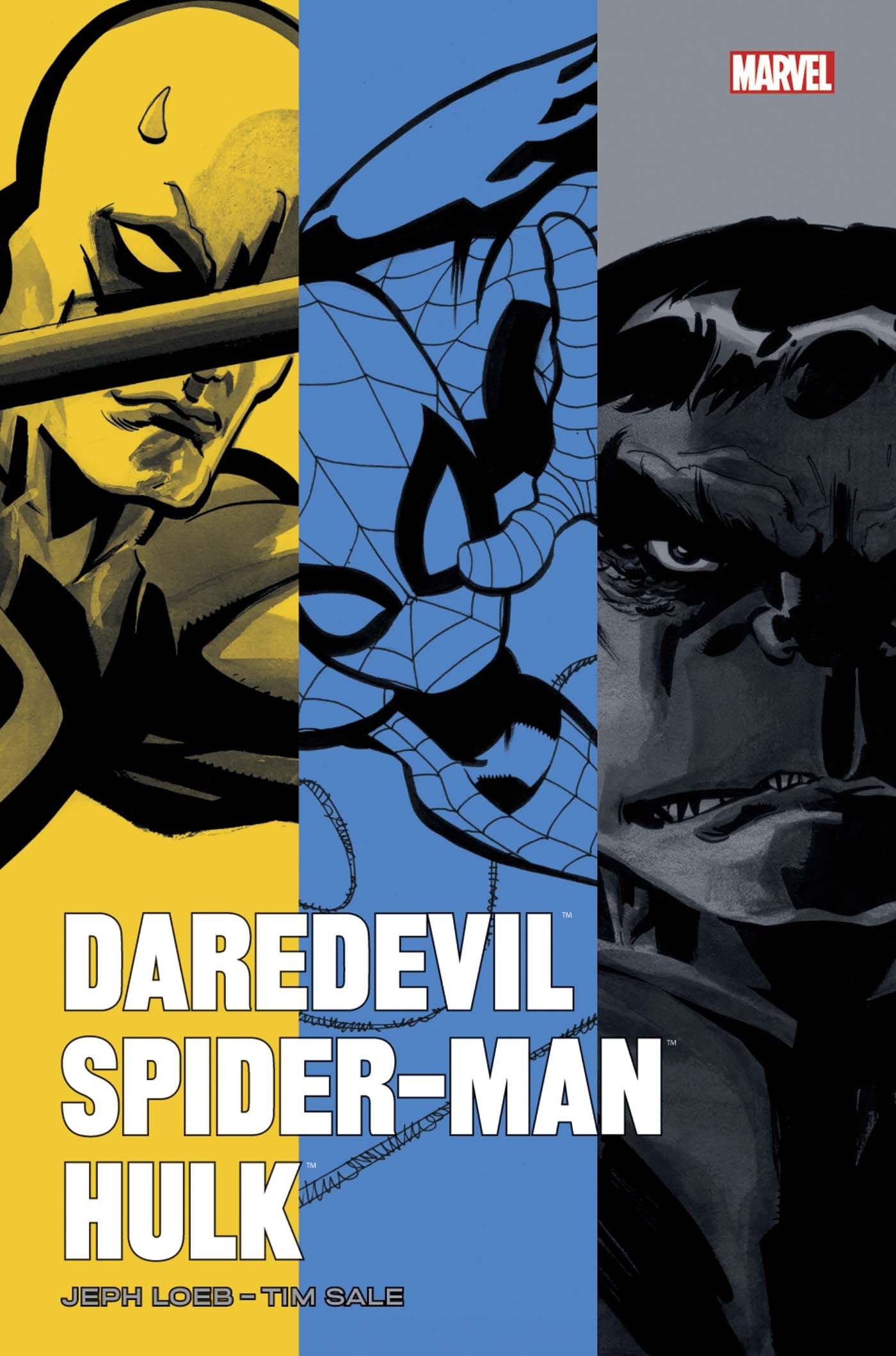 Les héros Marvel - Jeph Loeb,Tim Sale