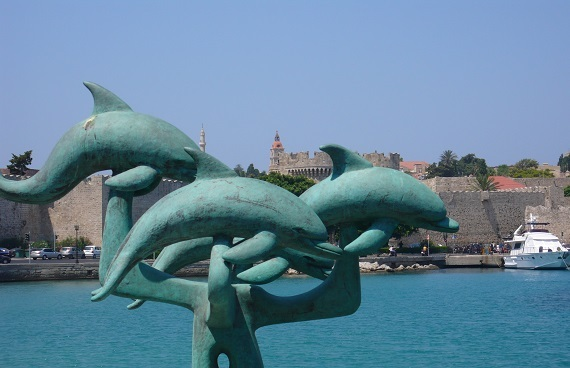 about the colossus of rhodes