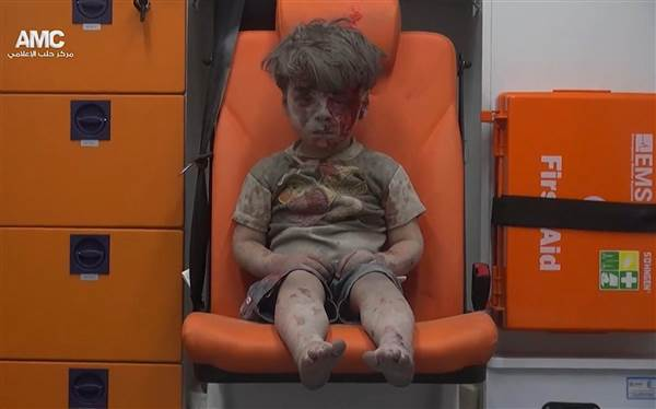 'Rescued Syrian boy Omran is one of thousands caught in civil war'
