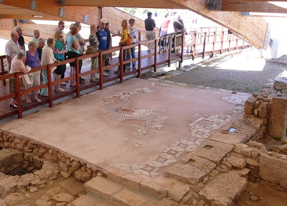 Roman Wall Paintings In The Pafos Theater