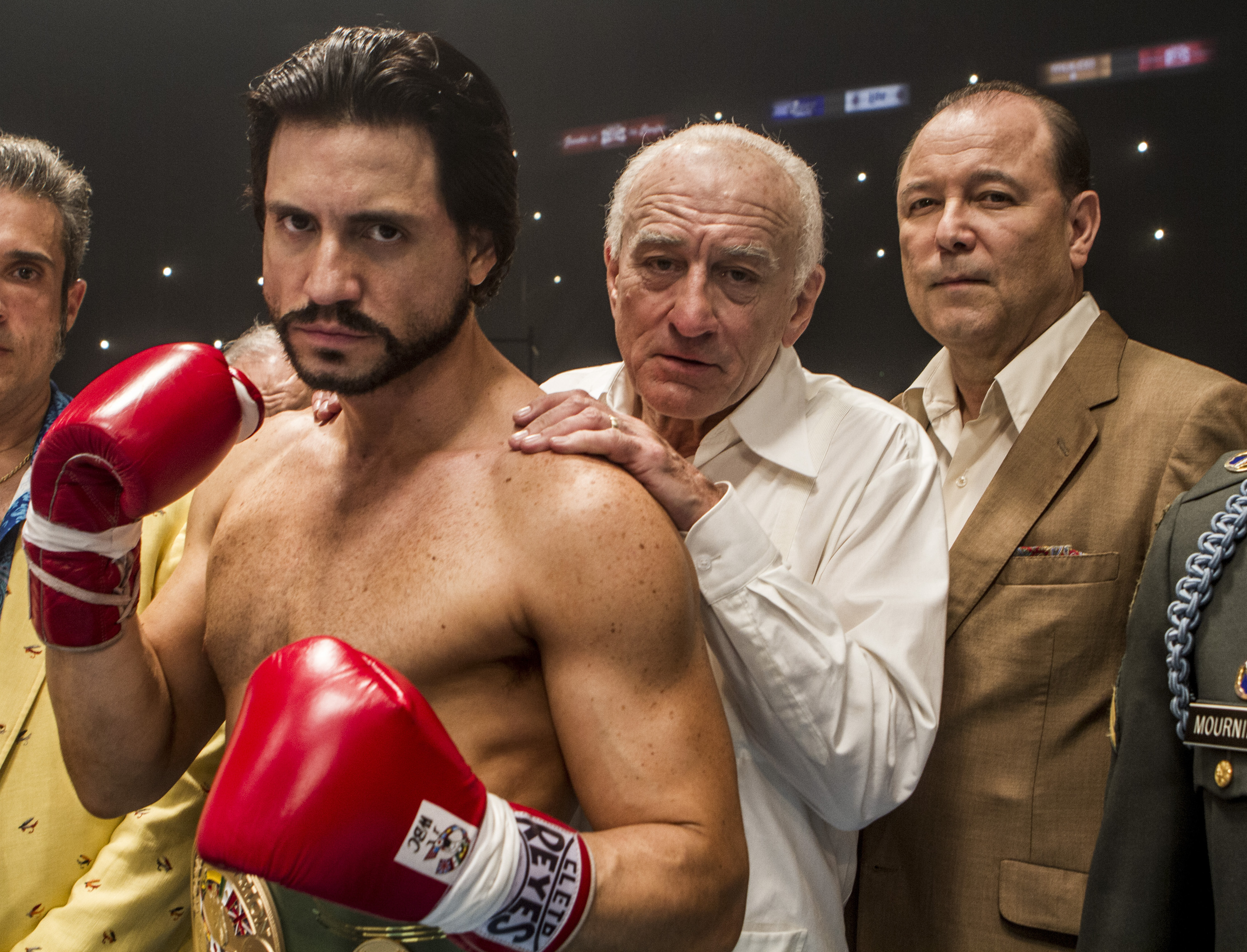 Behind The Boxing of 'Hands Of Stone' Video Interview