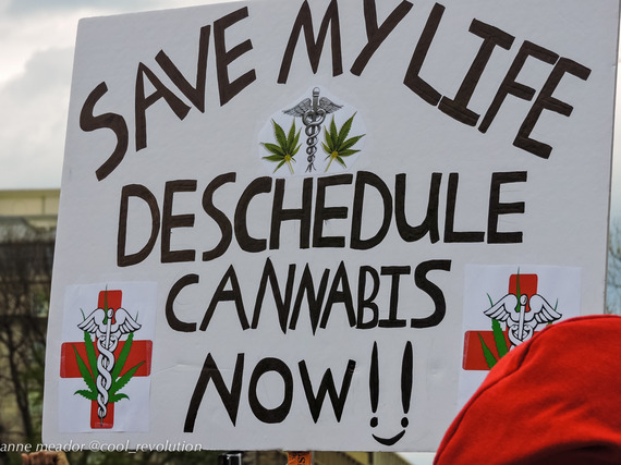 Deschedule weed activism