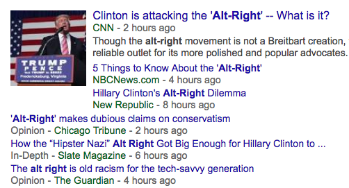 "Stop Using the Term ""Alt-Right'!"