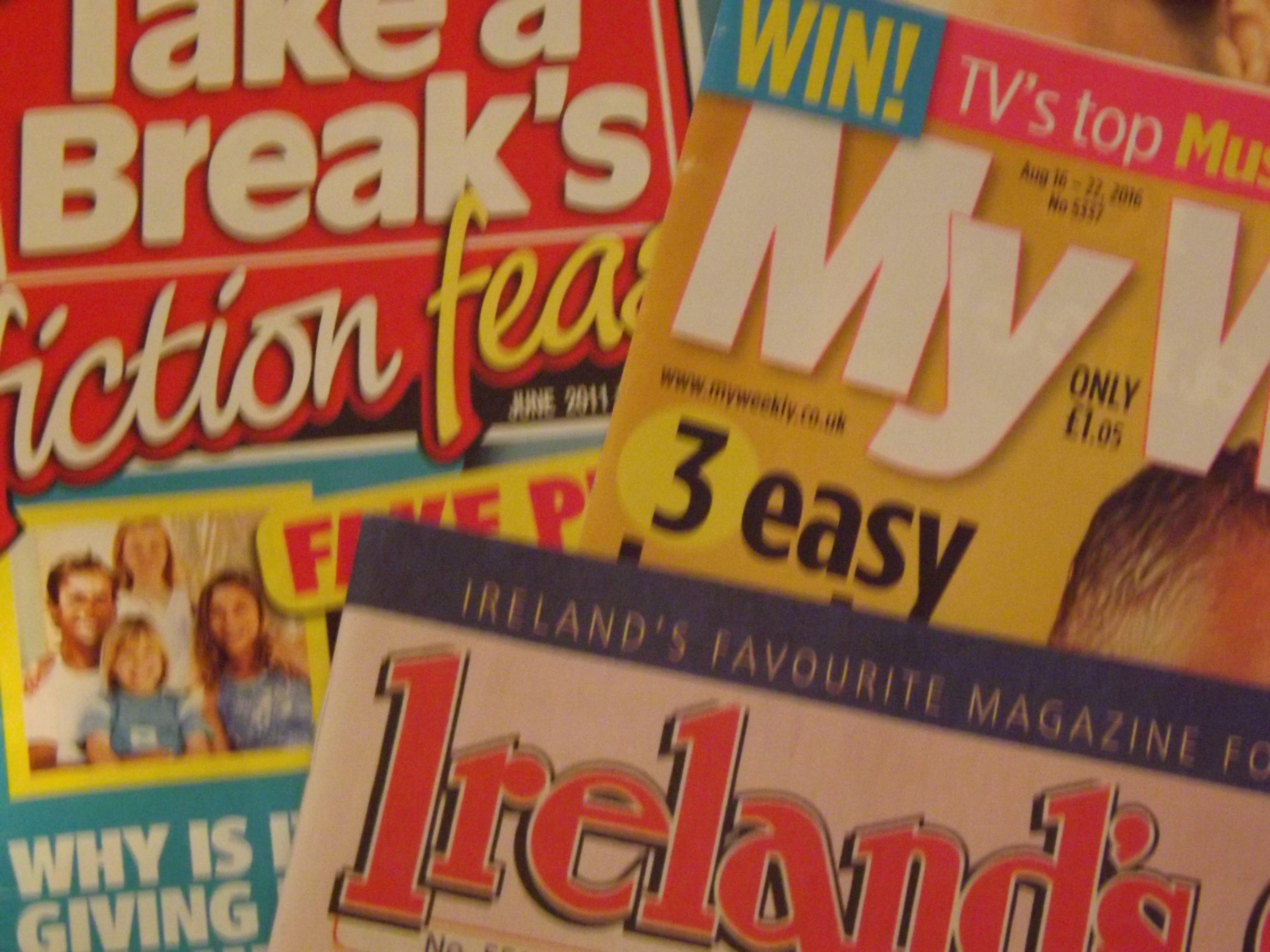 Women in magazines essay