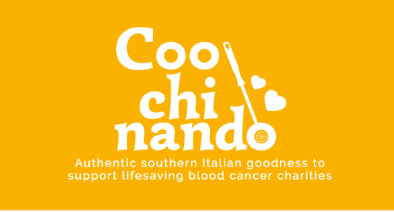 Banner for Italian food blog Coochinando