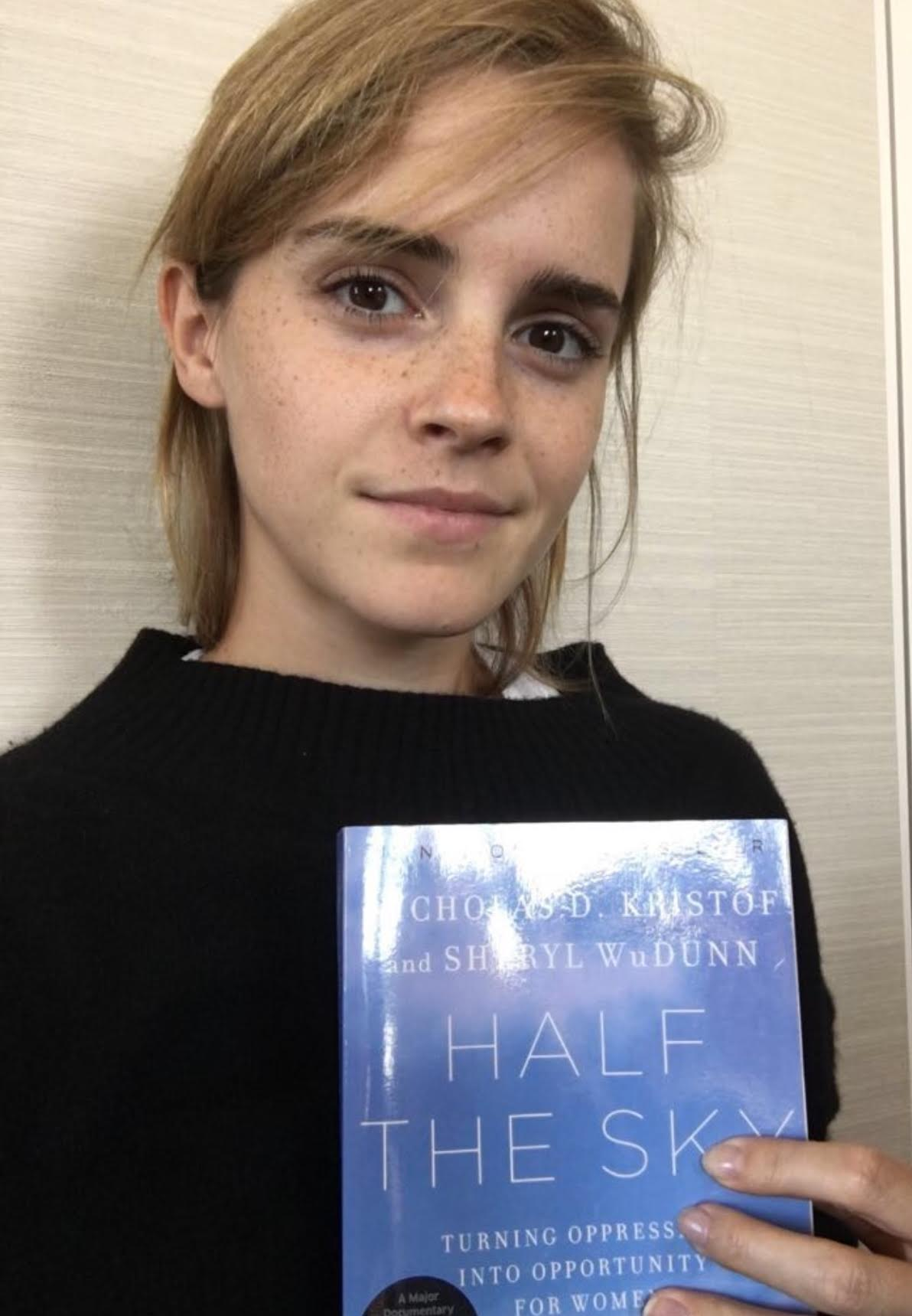 On International Literacy Day, Emma Watson Interviews ... Emma Watson Book