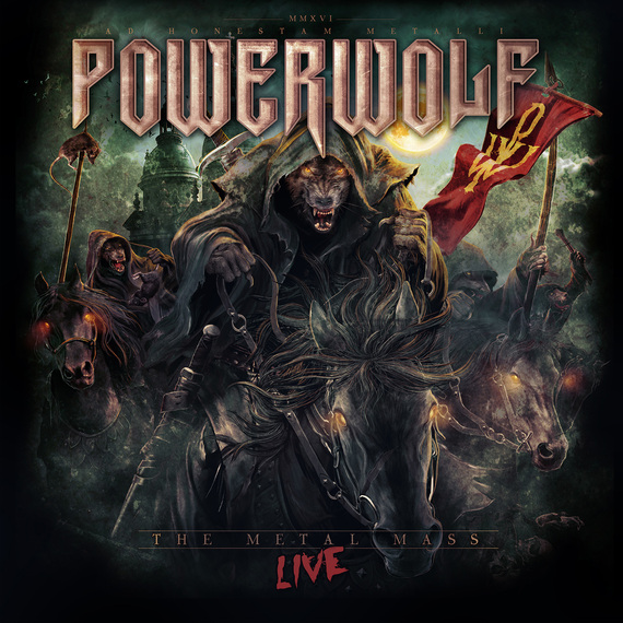 Powerwolf Metal Mass - Cover