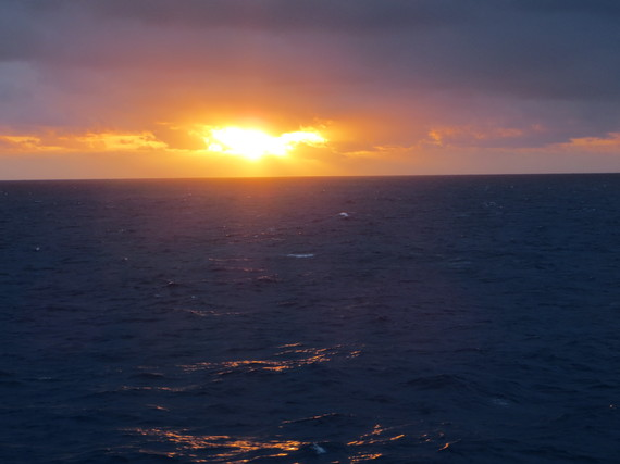Random Sunsets Around the World - Part 3, Africa - Sinking Low on the Looney Front