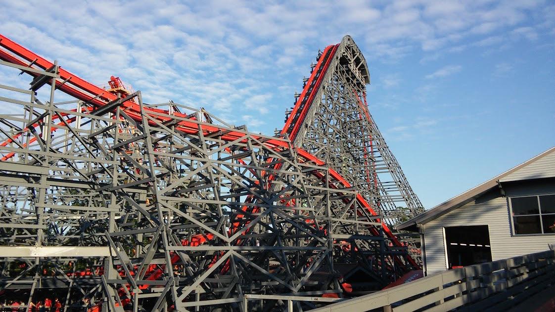 Mean Streak Legendary Wooden Roller Coaster Closes At Cedar Point