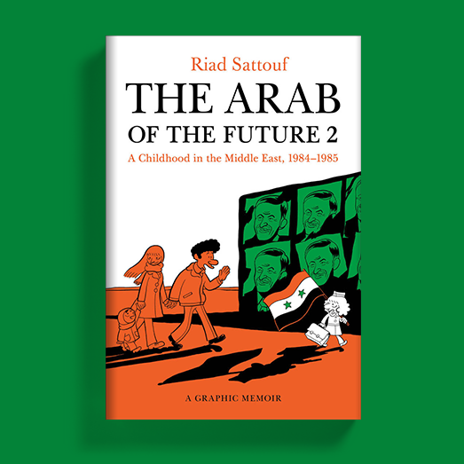 The Arab of the Future 2 Cover