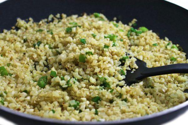 Fantastically Healthy, Cauliflower Rice (Paleo and Gluten-free)