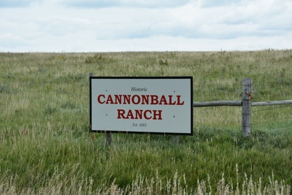 Cannonball Ranch Access on Highway 1806