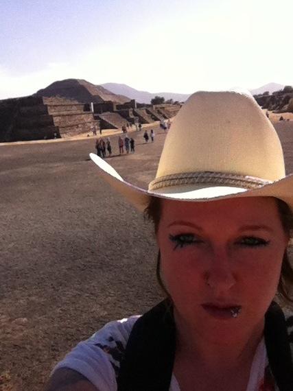 Gemma Speht in Mexico