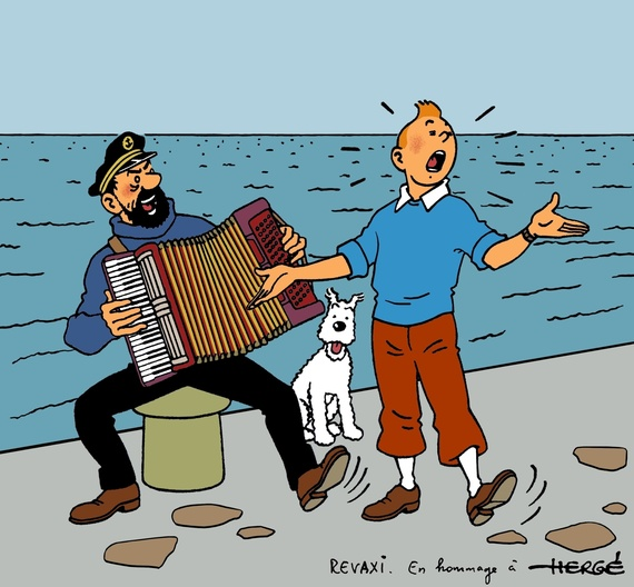 SACREBLEU! Calling All Fans Of Tintin The Little Reporter